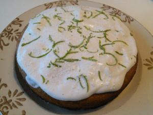 limoen-banaan cake